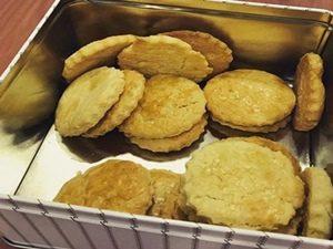 galletitas o galletas de limón